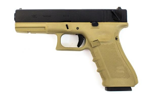 WE EU18 Gen 4 Tan Pistol