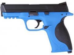 WE Big Bird Blue Pistol