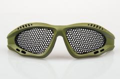 NP SHADES Mesh Eye Protection Green (Small)