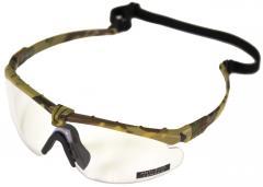 NP Battle Pro's - Camo Frame / Clear Lense