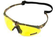 NP Battle Pro's - Camo Frame / Yellow Lense