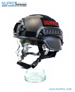 NP MICH 2000 Railed Helmet Black