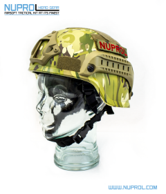 NP MICH 2000 Railed Helmet Multi