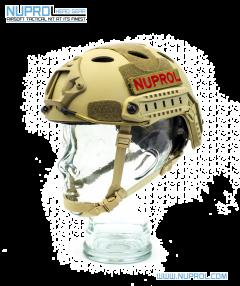 NP Fast Railed Helmet Tan