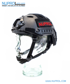 NP Fast Railed Helmet Black