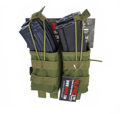 NP PMC AK Double Open Mag Pouch - Green