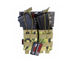 NP PMC AK Double Open Mag Pouch - NP Camo