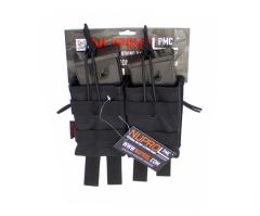 NP PMC G36 Double Open Mag Pouch - Black
