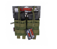 NP PMC G36 Double Open Mag Pouch - Green