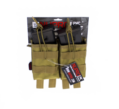 NP PMC G36 Double Open Mag Pouch - Tan