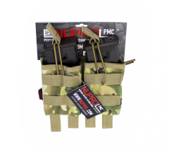 NP PMC G36 Double Open Mag Pouch - NP Camo