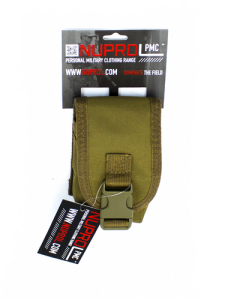 NP PMC Radio Pouch - Tan