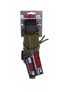 NP PMC Pistol Open Top Pouch - Green