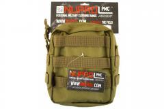 NP PMC Medium Zipped Util Pouch - Tan