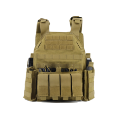 NP PMC Tactical Military Vest - Tan