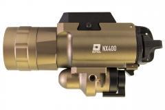 Nuprol NX400 Pro Pistol Torch & Laser - Tan