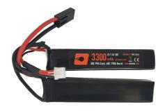 NP Power 3300mah 7.4v 20c  Lipo Nunchuck Type
