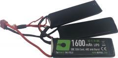 NP Power 1600mAh LiPO 11.1V 20C Triplet - Deans