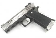 Hi-Capa 4.3 Force (Ruled)Semi / Full Auto Silver Model