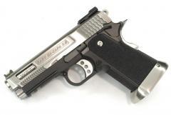 Hi-Capa 3.8 Force (waved groove)Semi / Full Auto Silver Model