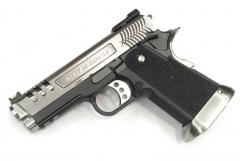 Hi-Capa 3.8 Force (Hollow out side)Semi / Full Auto Silver Model