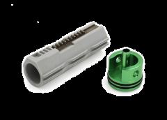 Modify AOE Cylinder Head & Piston ( w/ 10 Metal Teeth)