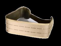 Combat Belt with Buckle Tan