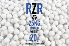 0.20G BIO BBS White with 25KG/BAG