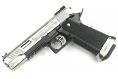 Hi-Capa 5.1 Force (Ruled) Semi / Full Auto Silver Model