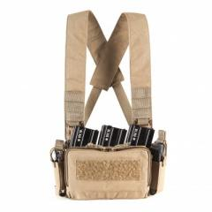 PMC Micro A Chest Rig - Tan