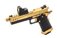 VORSK HI CAPA 5.1 SPLIT GOLD SLIDE BLACK FRAME GOLD PARTS WITH BDS