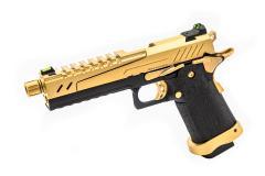 VORSK HI CAPA 5.1 SPLIT GOLD SLIDE BLACK FRAME GOLD PARTS
